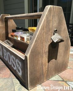Keep all your barbecue gear handy with this DIY BBQ caddy.
