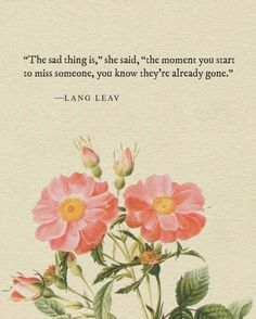 Lang Leav Poetry Quote