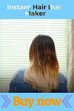Hair Bun Maker, Every Woman, Bun Hairstyles, Long Hair Styles, Boho, Store, Imagination, Beauty, Women