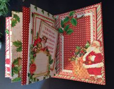 Hi everyone :-)   Here is a fast and easy tutorial on how to make a 6 x 4 pocket mini album from start to finish using the beautiful Twas t...