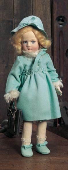 My Life as a Doll: 195 Italian Cloth Doll by Lenci in Original Costume