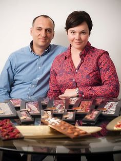 The delightful duo behind Adelaide's boutique ChocoMe chocolates. As seen in the Adelaide* magazine November 2012 Deluxe Issue. #Adelaide