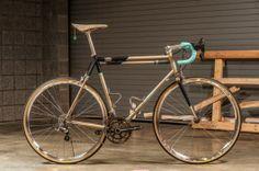 Lundbeck Cycles Road Travel Bike at NAHBS