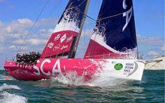El Team SCA de la Volvo Ocean Race