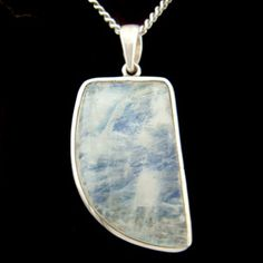 Moonstone & Silver Pendant - Freeform Drop 33mm - buy now at http://www.crystalage.com/online_store/moonstone-and-silver-pendant-freeform-drop-33mm1407415891.cfm