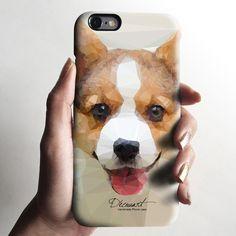 Welsh corgi iPhone 6 case, iPhone 6 plus case Iphone 5c, Iphone 6 Cases, Iphone 6 Plus Case, Diy Phone Case, Cell Phone Cases, Welsh, Unique Iphone Cases, Iphone Accessories, Plastic Case