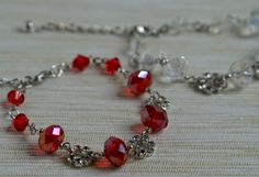 A personal favorite from my Etsy shop https://www.etsy.com/listing/278147052/charming-crystal-bracelet