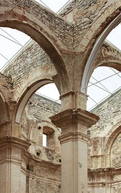 Restauración de la antigua iglesia de Corbera d'Ebre