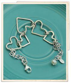 bound hearts bracelet