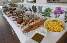 A part of our lunch buffet, lunch in our pavilion, organic food, allergy friendly, healthy food, variety of food, hotel living, hotel lunch. Hotel Refsnes Gods. Lunch Buffet, Superior Room, Healthy Food, Healthy Recipes, Organic Recipes, Pavilion, Allergies, Romantic, Holiday