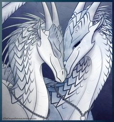 Snow Love by xTheDragonRebornx on DeviantArt. Kinda looks like Taiga and Freeze, except they're different genders in this.....