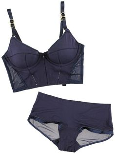 You can make a bra like this Stella McCartney long line using the Boylston bra sewing pattern by Orange Lingerie!