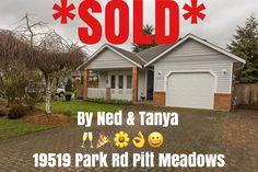 *JUST SOLD!!! Congrats to Our Sellers of 19519 Park Rd. 🎉😎🎶👌 #sold #realestate #pittmeadows