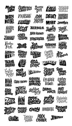 The Illustrator Formerly Known as Designer Graffiti Lettering Fonts, Tattoo Lettering Fonts, Typography Letters, Typography Design, Logo Design, Vintage Typography, Graffiti Doodles, Graffiti Drawing, Graffiti Alphabet