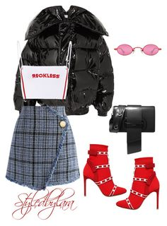 """"" by lahraog on Polyvore featuring Vetements, Chicwish, Valentino and Prada"