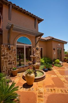 Tuscan Style Home by Jim Boles Custom Homes - mediterranean - patio - other metro - Jim Boles Custom Homes L.L.C.