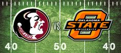 FSU vs OSU tonight at 7pm on the GIANT JUMBOTRON down in the Tiki Village at AJ's!