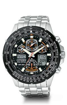 Citizen Eco-Drive Skyhawk A-T JY0000-53E Atomic Timekeeping
