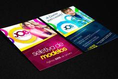 Job: Panfleto | Cliente: Job Models | Software: Photoshop CS6.