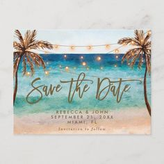 Boho Strandhochzeit Save the Date Postkarte Boho Beach Wedding, Beach Wedding Reception, Beach Wedding Favors, Summer Wedding, Beach Ceremony, Diy Wedding, Beach Wedding Ideas On A Budget, Wedding Photos, Wedding Stuff