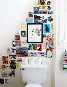 More Than Mirrors: Art on Bathroom Walls