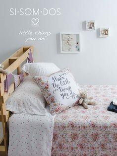 SISOMDOS loves the little things you do! #sisomdos #kids #little #bed #design