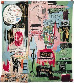 "thefabricpress: "" Jean-Michel Basquiat """