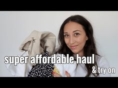 HAUL & TRY ON VESTITI ECONOMICI | WORDANS HAUL | BEST AFFORDABLE CLOTHES FOR BTS | Giorgia Rossi - YouTube Affordable Clothes, Try On, Fall Winter Outfits, Autumn Fashion, Channel, Bts, Youtube, Fall Fashion, Fall Winter Fashion