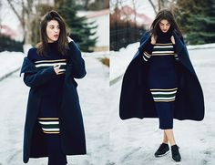 Get this look: http://lb.nu/look/8610261  More looks by Vlada Cotorobai: http://lb.nu/vladacotorobai  Items in this look:  Zara Shoes, Dresslily Dress, Missguided Coat   #casual #sporty #street