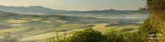 Tuscany  I suppose you could call this a villa next door panorama (see two posts back), a few minutes after sunrise.