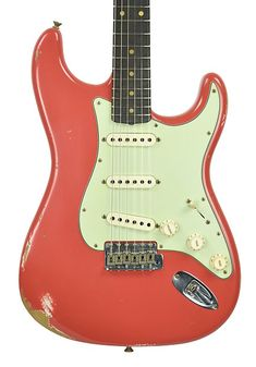 Fender Custom Shop 61 Stratocaster Relic in Fiesta Red Fender Custom Shop Stratocaster, Guitar Rig, Your Design, Spicy, Bridge, Porn, Texas, Smooth, Future