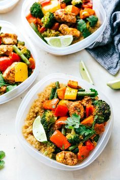 Winner, winner, chicken dinner (or lunch).   #Greatist https://greatist.com/health/healthy-single-serving-meals