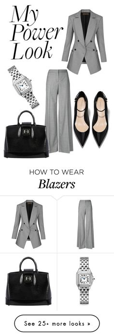 """EXECUTIVE MEETING"" by chrylpeterman on Polyvore featuring Alexander McQueen, Louis Vuitton and Cartier"