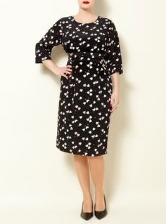 Clements Ribeiro Swan Collection- Betty Dress,