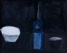 "William Scott: Still Life, 1956. Painting 38.1 x 48.3 cm - ""The beauty of the thing . . . badly done."""