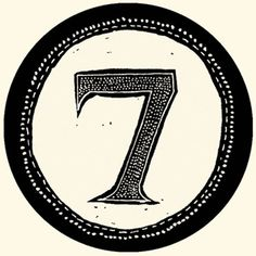 7th Chakra --Seven is the mystical number of magic and miracles