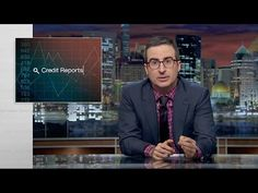 John Oliver confirms everything you suspected about credit reports · Newswire · The A.V. Club