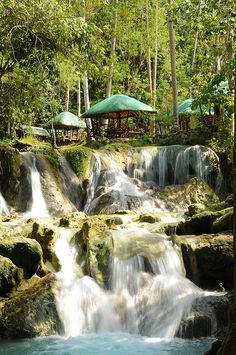 Hagimit Falls in Samal Island, Philippines