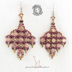 Joanne Zammit -Malta   Honeycomb  Mini Duo O's Rizo Miyuki 11/0, 15/0