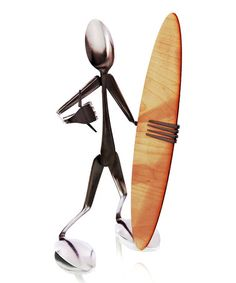 Another great find on #zulily! Spoon Surfer Sculpture #zulilyfinds