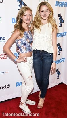 Paige and Chloe at the Digifest in NYC! Credit to: @TalentedDancers
