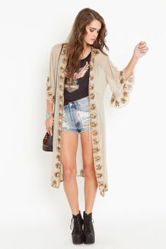6 Shore Road- Morning Glory Silk Jacket. Love this whole look, actually.
