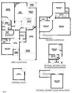 Floor plans on pinterest floor plans house plans and for Shea custom home plans