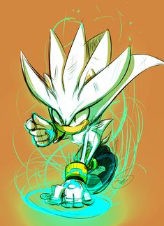 """Silver looked up at the oncoming ship, wincing at the pain of his injuries. """"He must've stolen tech from my era to enhance his ship..."""" Sonic glared. """"Then let's put that tech out to pasture!"""""""