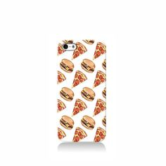 Pizza and Burgers iPhone case, Galaxy S3 Case, iPhone 6 case, iPhone 4 case iPhone 4s case, iPhone 5 case 5s case and 5c case