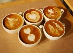 Latte Art. Someday I will be able to do this!
