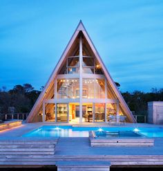 bromley caldari completes A-frame re-think on fire island, new york