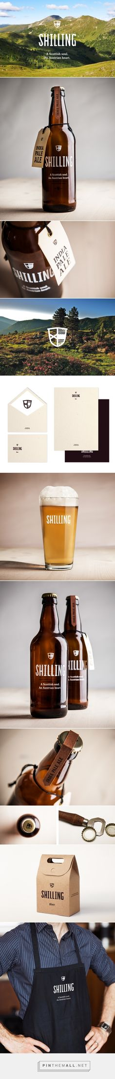 Shilling packaging and branding.