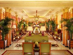 A roundup of our favorite restaurants in London:  The Dorchester.