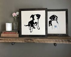 Customized puppy posters Puppy Nursery, Cool Dog Houses, Home And Living, Best Dogs, Dogs And Puppies, Wall Decor, Posters, Handmade, Etsy